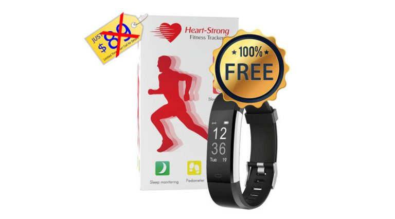 Exclusive – Free Fitness Tracker