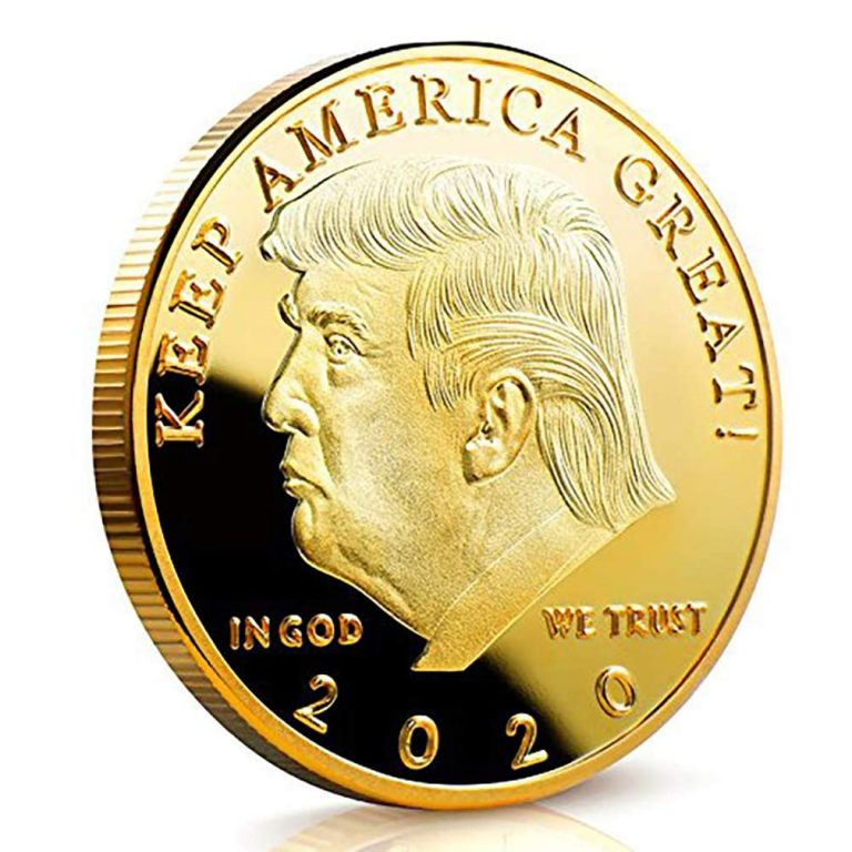 Exclusive – Trump 2020 Gold Coin
