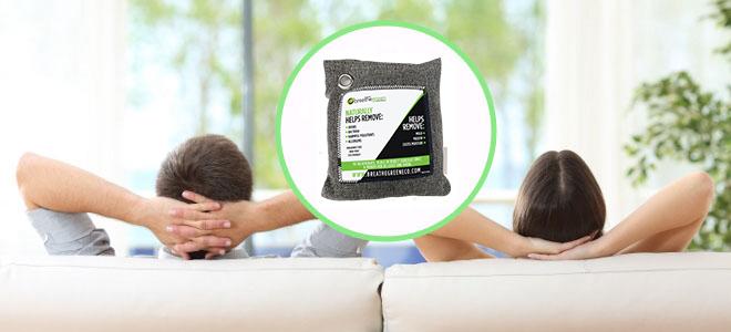 Breathe Green – Charcoal Purifying Bag
